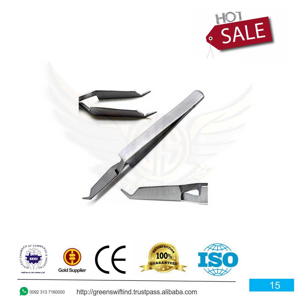 De Bonding Tweezers Reverse action, single ended instruments which is used to place direct-bond brackets. De Bonding Tweezers are much more gently disengaged once the attachment has been placed and left unsupported during the curing process.